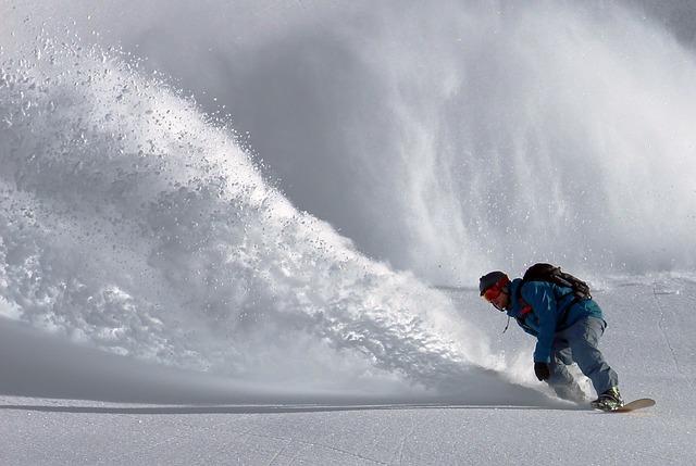 snowboardování