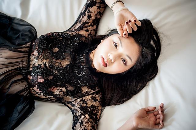 asijská dívka