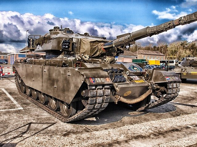 starý tank